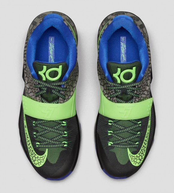 new concept 08b48 20006 Nike KD 7 'Electric Eel' - Official Look + Release Info - WearTesters