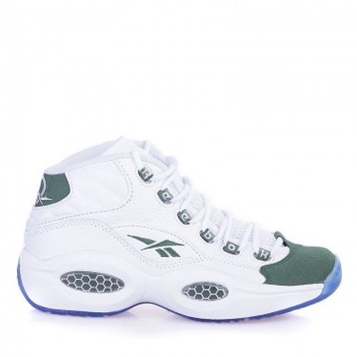 b926f853cfd Reebok Question Mid White  Green - Available Now - WearTesters
