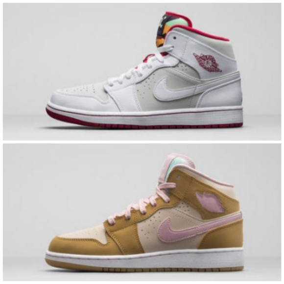 ce4c38bf8067 Air Jordan 1 Retro Mid  Hare     Lola  - Available Now - WearTesters