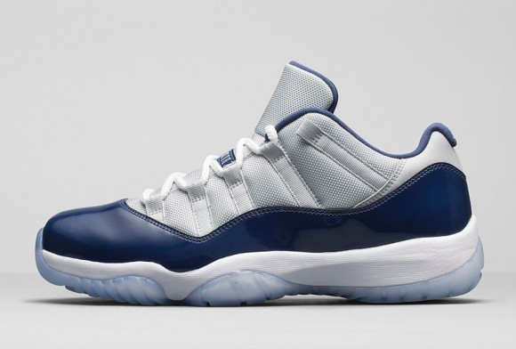 Air Jordan 11 Retro Low 'Georgetown: Grey Mist' side