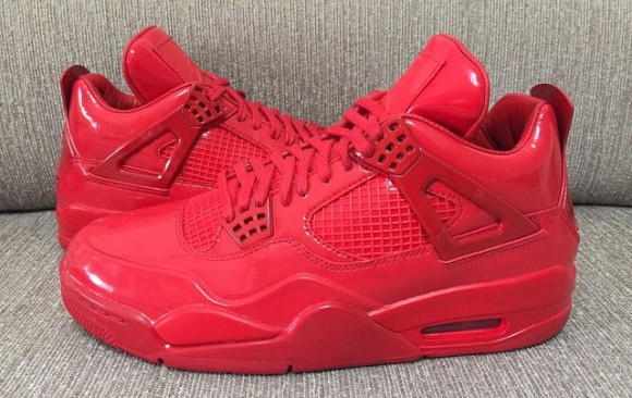 All-Red Air Jordan 11Lab4 Retro 4