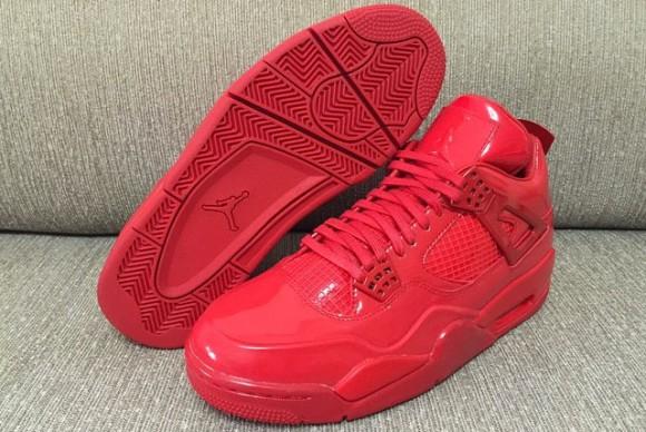 All-Red Air Jordan 11Lab4 Retro 5 - WearTesters af752029b4