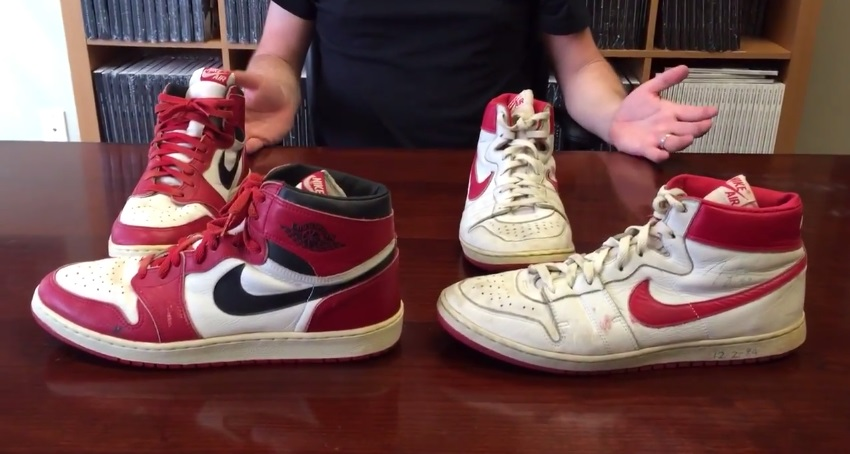 new product d3c76 f5686 Know Your History  Nike Air Ship Vs. Air Jordan 1 - WearTesters