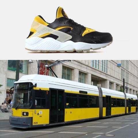 timeless design 42cc0 abb18 ... Nike Air Huarache City Pack Berlin Bus ...
