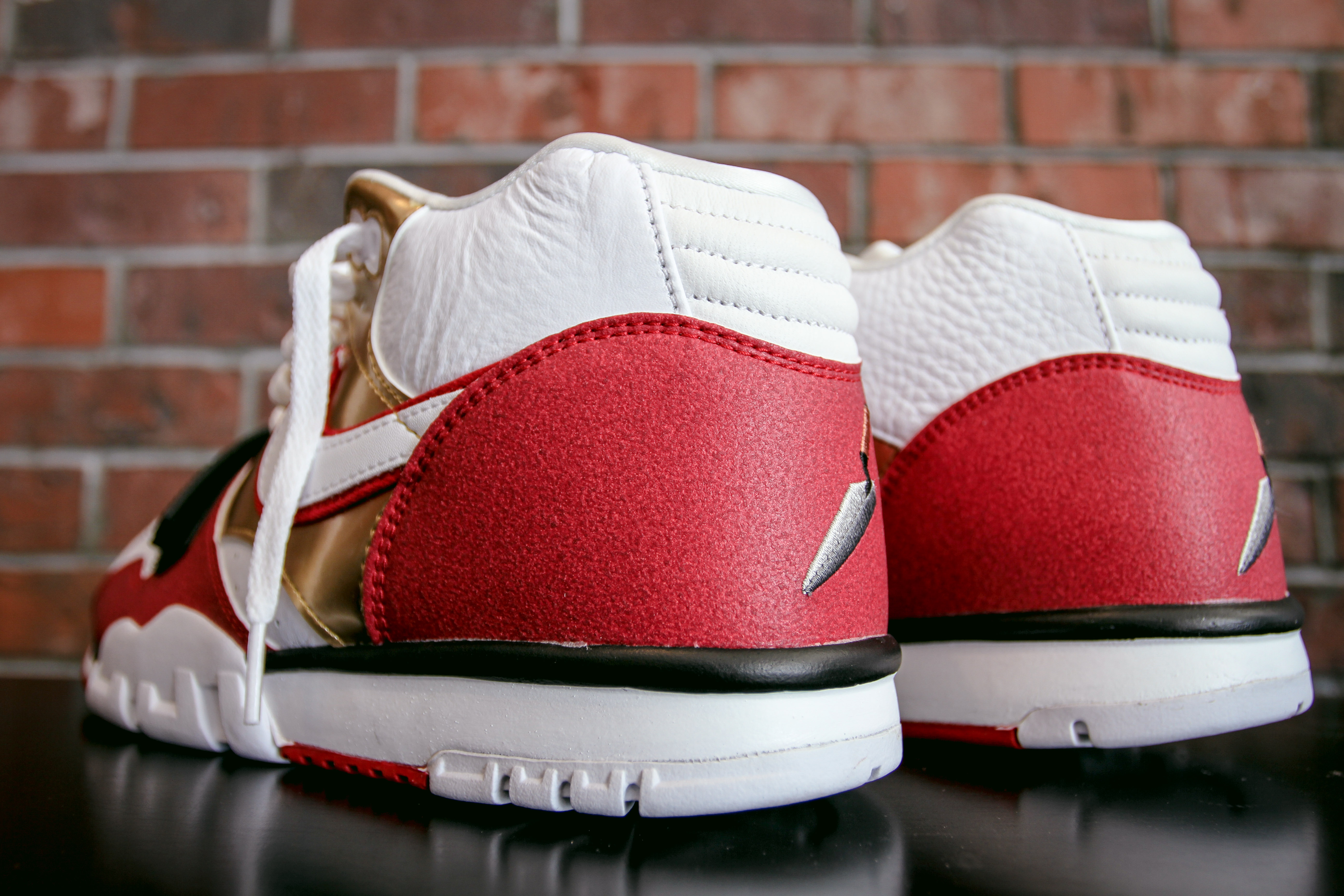 buy online ee414 b3342 ... Nike Air Trainer 1 Mid PRM QS is Inspired by 49er History 3 ...
