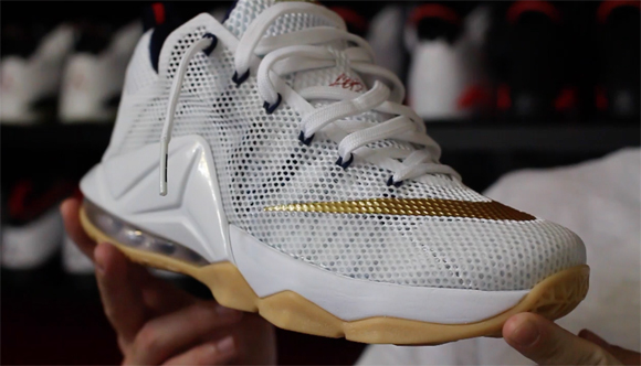 4056c1db785 Nike LeBron 12 Low  USA  - Detailed Look   Review - WearTesters