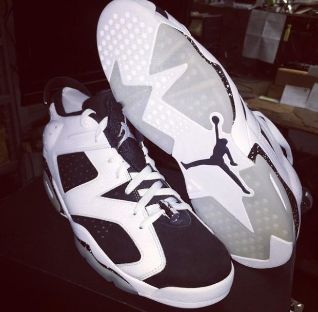 6b6364219da Air Jordan 6 Low 'Oreo' - First Look - WearTesters