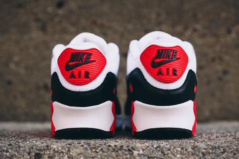 more photos e6918 b6096 2015 Nike Air Max 90  Infrared  heel