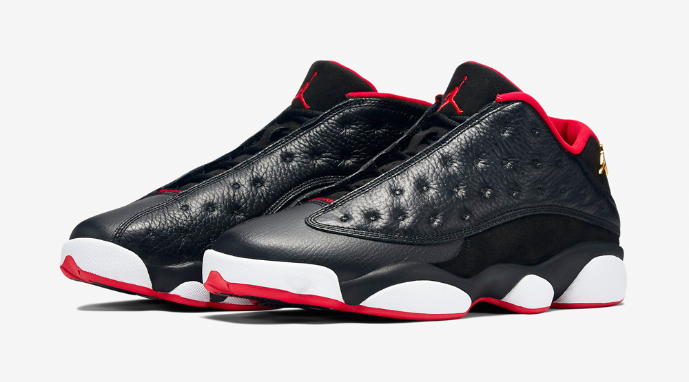 Air Jordan 13 Retro Low Black  Red - Official Look + Release Info ... 09c6d7042