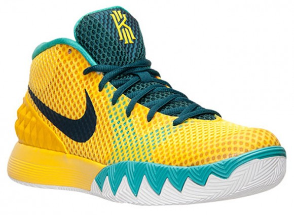 quality design 8f573 821ef ... 2016 Cereal Blue Volt g-( lj Nike Kyrie 1 Tour Yellow ...