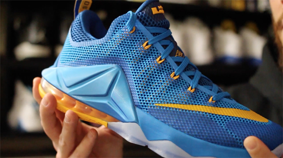brand new 4335d 1405a Nike LeBron 12 Low  Entourage  - Detailed Look   Review - WearTesters