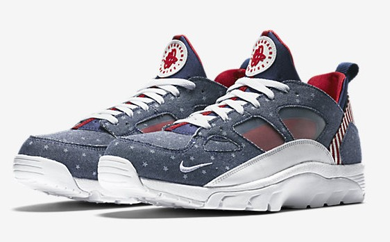 bbb863c2284c You Can Cop The Patriotic Nike Air Trainer Huarache Low  USA  Now ...