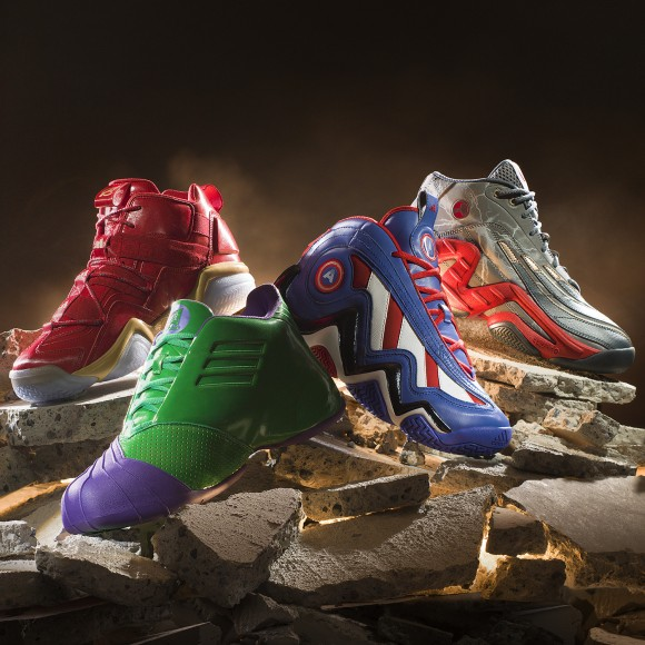 adidas x Marvel's Avengers Unveil Basketball Shoe Collection 2