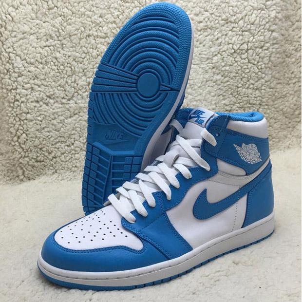 best sneakers 679b1 9f616 Air Jordan 1 High OG  UNC  - Release ...