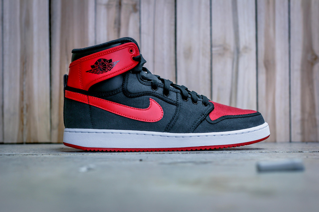 low priced 71e1e 216bf Get A Detailed Look at the 'Bred' AJ1 KO OG High - WearTesters