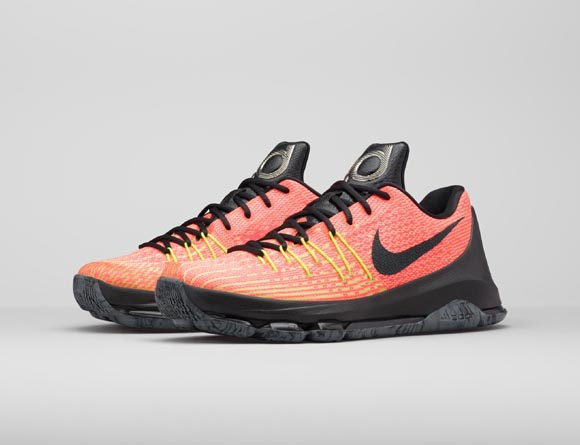 sale retailer 42fce 41435 Push Your Game to the Limit with the Nike KD 8  Hunt s Hill Sunrise ...