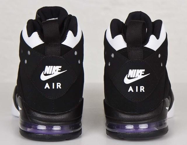 buy online 84a10 b76cc ... Nike Air Max2 CB  94 OG Black White Pure Purple heel ...