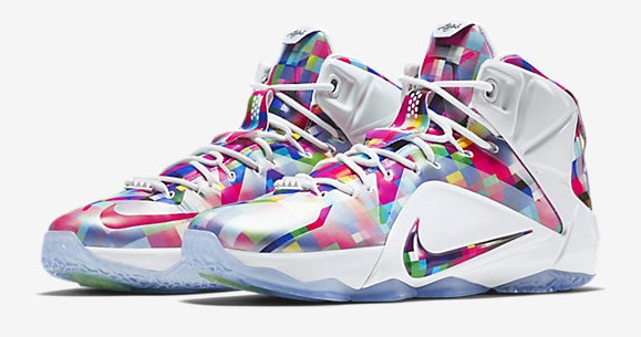 Nike LeBron 12 EXT Finish Your Breakfast Fruity Pebbles