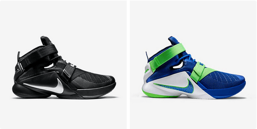 purchase cheap 23659 70b2a Nike LeBron Soldier 9 -  Blackout     Sprite  Colorways Available ...