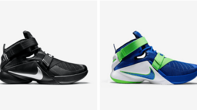 f5b7bafeb46f Nike LeBron Soldier 9 –  Blackout     Sprite  Colorways Available Now