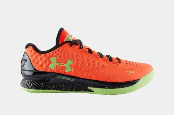 Under Armour Curry One Bolt Orange lateral