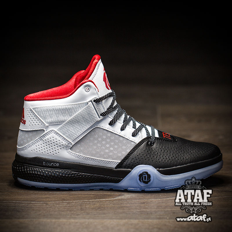 huge selection of bb12a d1921 adidas D Rose 773 IV red white black 2