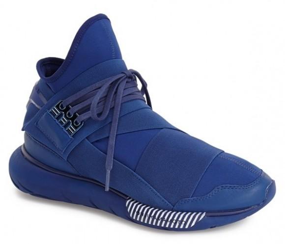 adidas y3 qasa high all blue - WearTesters 0b4d10fbe