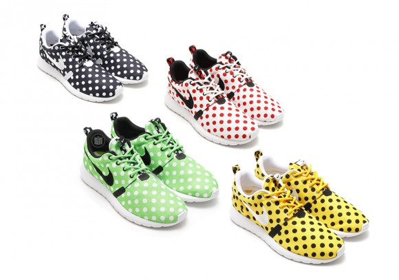 innovative design a4491 1bc66 Nike Roshe One NM  Polka Dot  Pack - Available Now - WearTesters