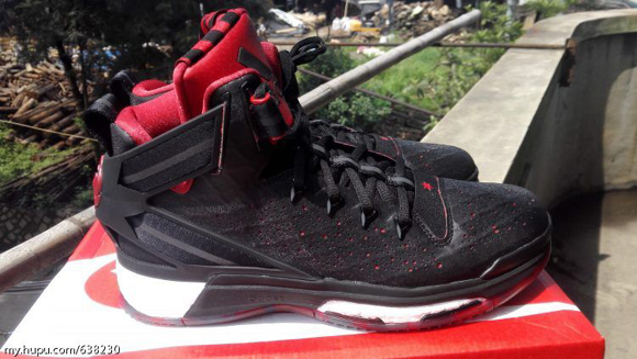 c153c6b6fa0 ... boost away vi men basketball shoes new red f1464 8ea89  new arrivals a  detailed look at the adidas d rose 6 in black red 2 34ef9