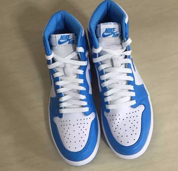 1c0abe6ec8a097 Detailed Look at The Air Jordan 1 Retro High OG  UNC  for 2015 5 ...