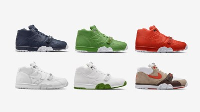 half off f293d e66ff Fragment x Nike Air Trainer 1 Mid – 6 Colorways Available Now