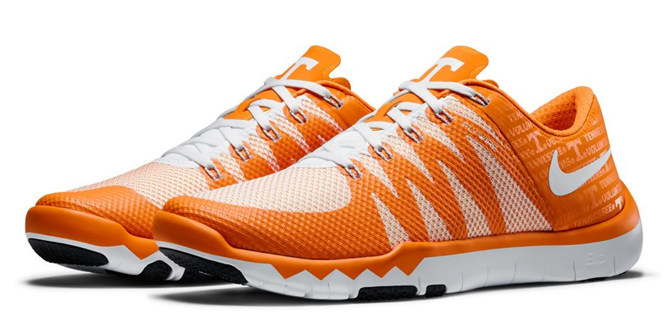 hot sale online 0aa8f 74e8a Nike Free Trainer 5.0 V6  Week Zero  Tennessee Volunteers