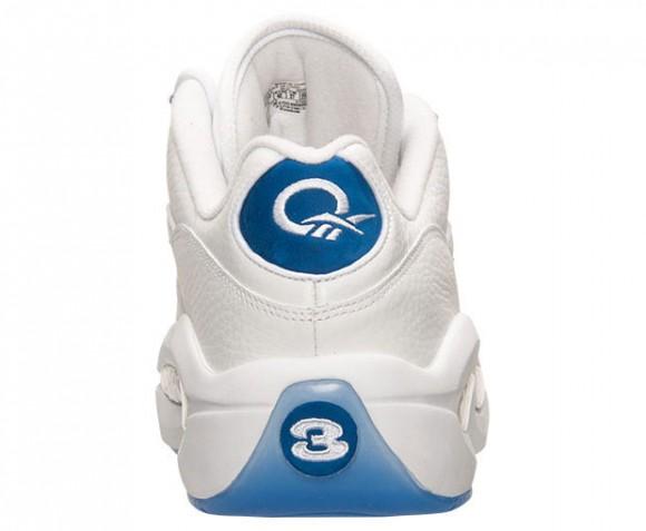 Reebok Question Low White Blue 4