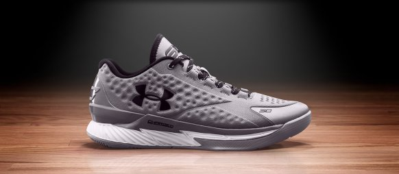 Under Armour Curry One Low 'Two-A-Days' Silver