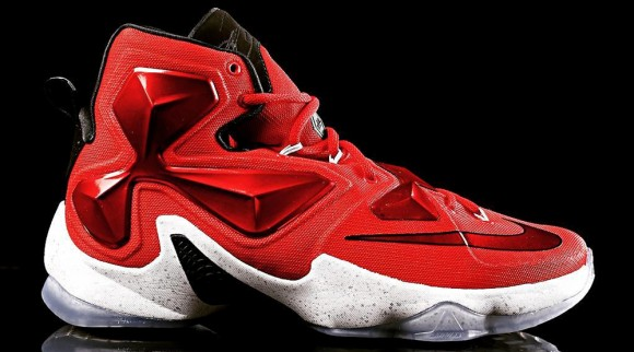 68db9cad14d Here is a Detailed Look at the Nike LeBron 13  Away  - WearTesters