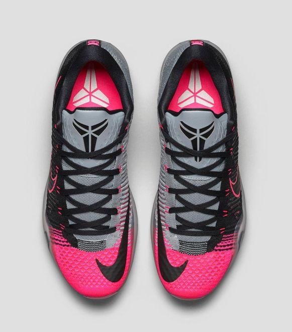 Nike Kobe X Elite 'Mambacurial' top view