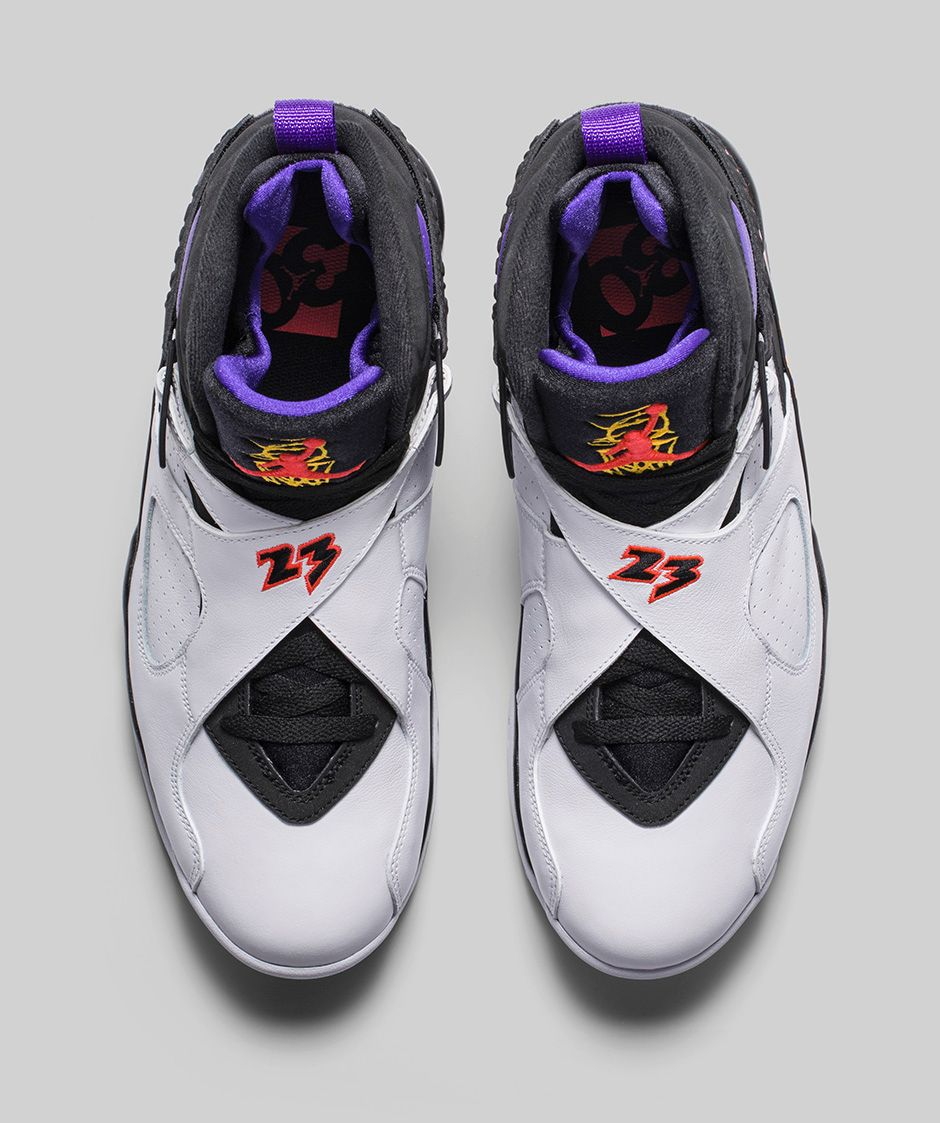 e77e92a0c08f Get an Official Look at the Air Jordan 8 Retro  Three Time s a Charm ...
