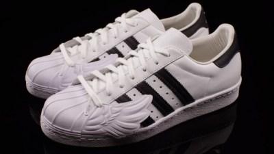 super popular b88f9 8d45d Jeremy Scott Takes On the adidas Superstar 80s