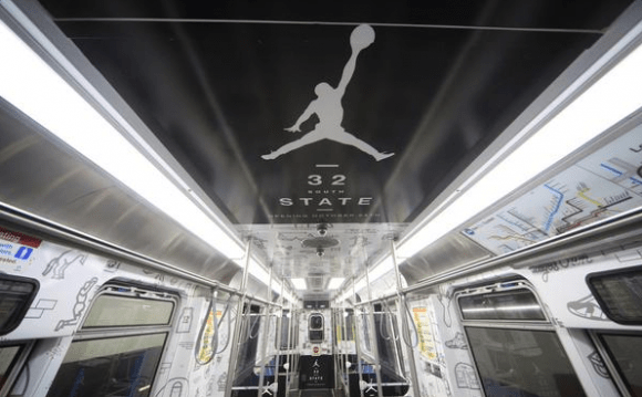 Jordan Brand Commandeers a Chicago Subway Train-3