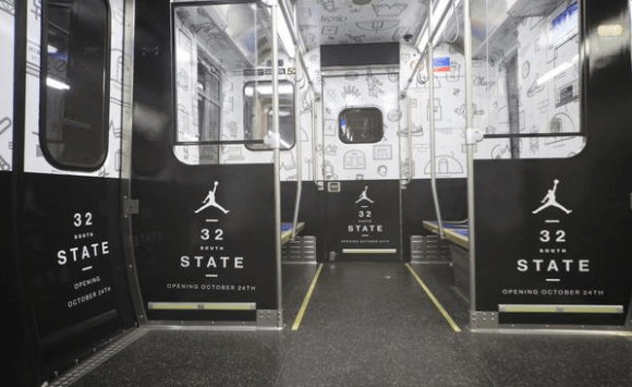 Jordan Brand Commandeers a Chicago Subway Train-4