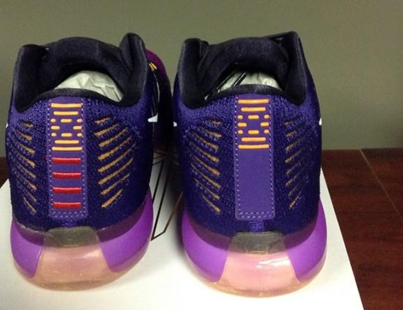 Nike Kobe X Elite Low purple heel