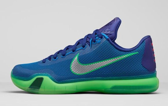 Nike Kobe X 'Emerald City' lateral
