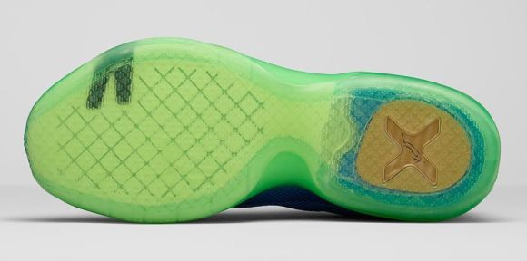 Nike Kobe X 'Emerald City' outsole
