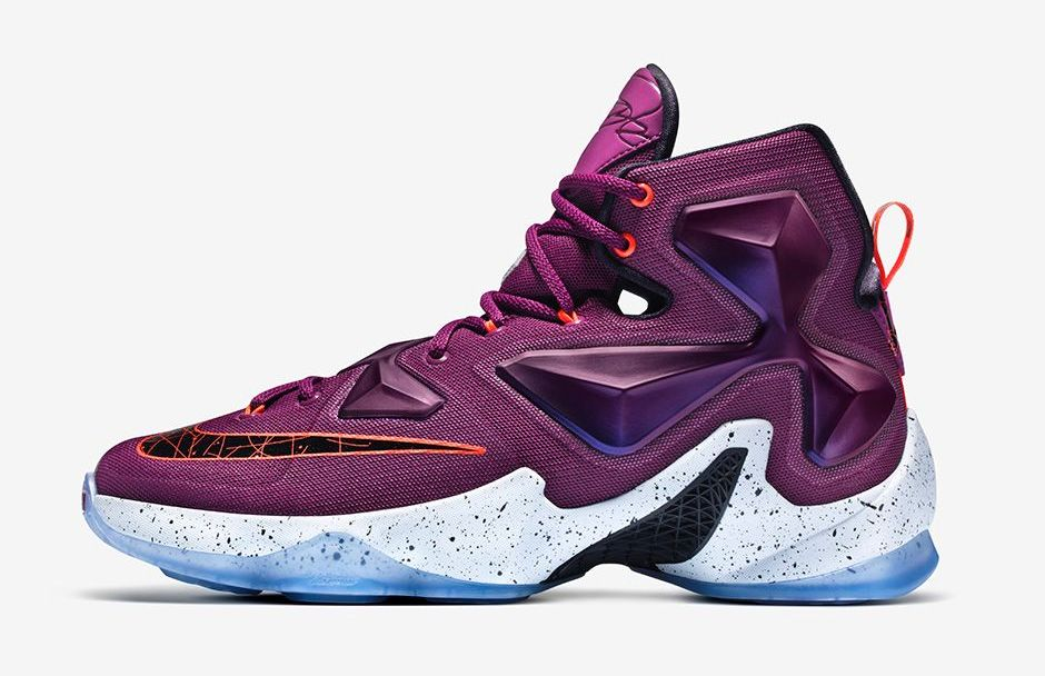 b6ec01ceb8a3 The Nike LeBron 13 Just Launched in Mulberry - WearTesters