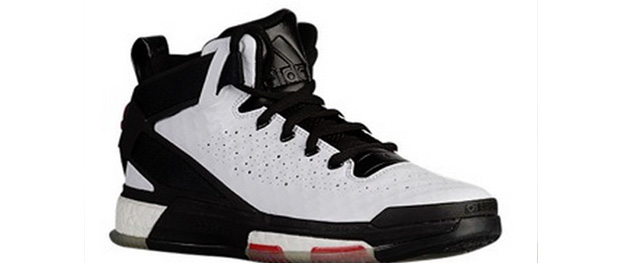 free shipping 64a51 83460 ... adidas d rose 6 white