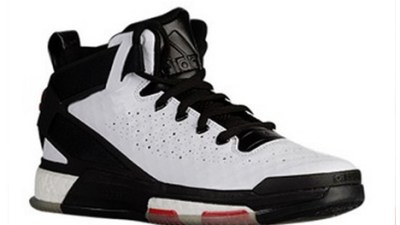 ee8f8dfd20ec The adidas D Rose 6 in White  Black – Scarlet Gets a Release Date