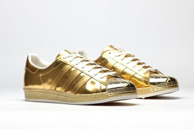 adidas superstar gold