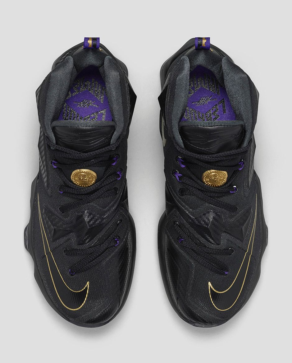 e611badeb1ebc Be Money on Court with the Nike LeBron 13  Pot of Gold  - WearTesters