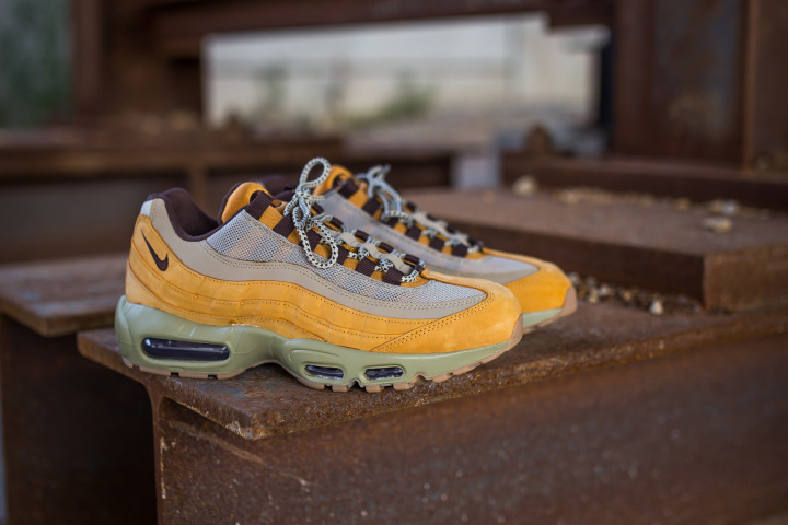 more photos a292e 384bd ... low cost the nike air max 95 gets the wheat treatment just in time for  fall