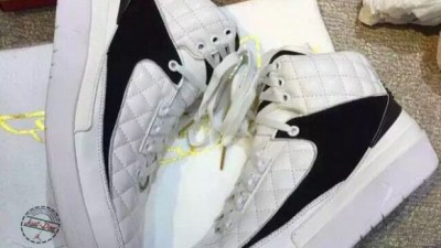 don c air jordan 2 white black